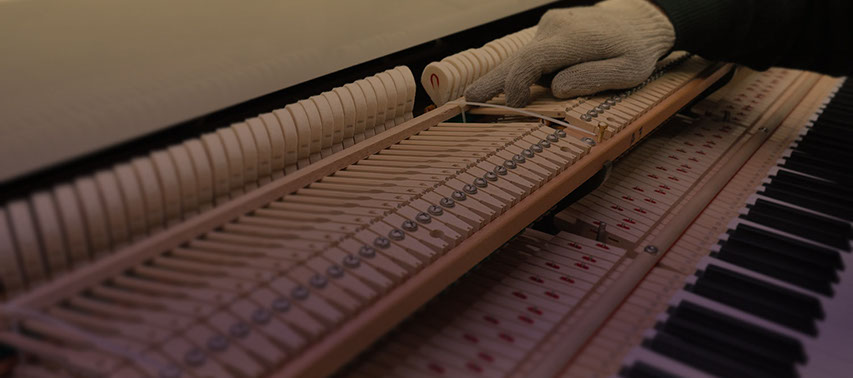 Our maintenance centre to repair, tune, polish and restore any piano.